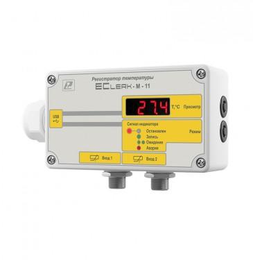 Измеритель-регистра тор  температуры (для рефрижераторов) EClerk-M-2Pt-HP (EClerk-M-11-2Pt-G3 -HP)