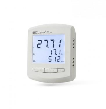 Измеритель-сигнал изатор  параметров качества воздуха EClerk-Eco-A