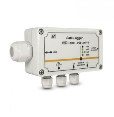 Автономные регистраторы EClerk-USB-G  промышленные в герметичном корпусе