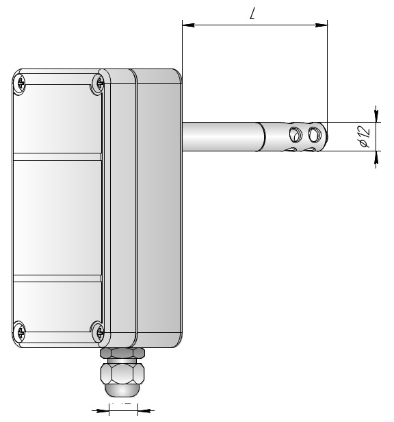 Измеритель влажности канальный ИВИТ-М.Т