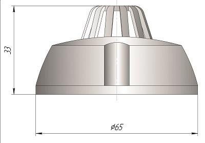 Датчик влажности комнатный для чистых помещений ДВТ-03.ТЭ