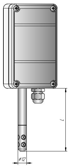 Измеритель влажности настенный ИВИТ-М.RS