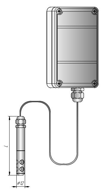 Измеритель влажности накладной ИВИТ-М.RS