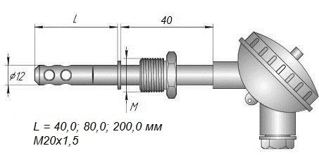 Даталоггер влажности EClerk-USB-RHT-Kl для производственных и складских помещений
