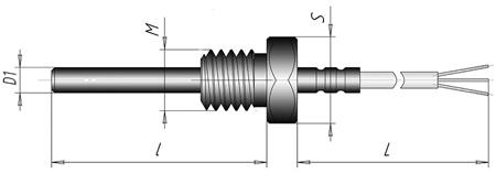 Термопреобразователь сопротивления ТСП, ТСМ - К4
