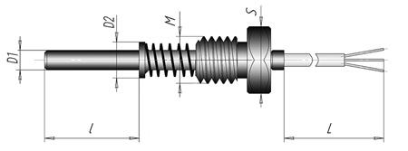 Термопреобразователь сопротивления ТСП, ТСМ - К4.1