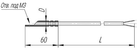 Термопреобразователь сопротивления ТСМ (ТСП) - К5