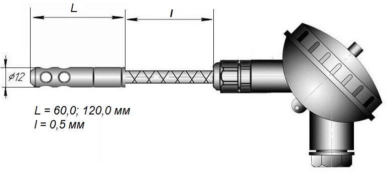 Даталоггер влажности EClerk-USB-RHT-Kl для работы с внешними датчиками