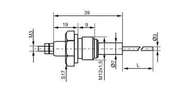 Датчик уровня кондуктометрический ДУ1-Н