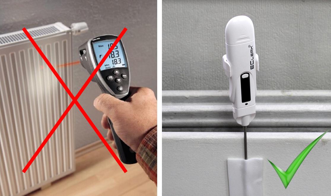 Как правильно измерять температуру радиатора отопления?